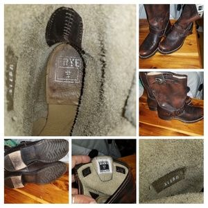 Gently pre-loved Frye boots